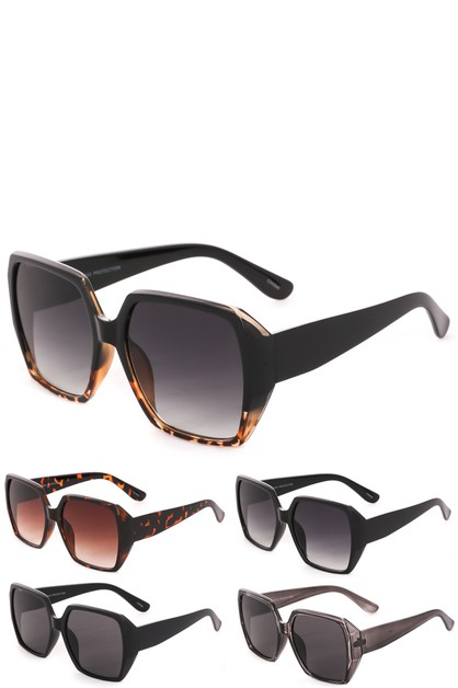 Oversized Acetate Square Sunglasses - orangeshine.com