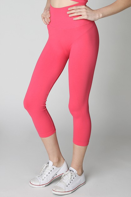High Waist Capri - orangeshine.com