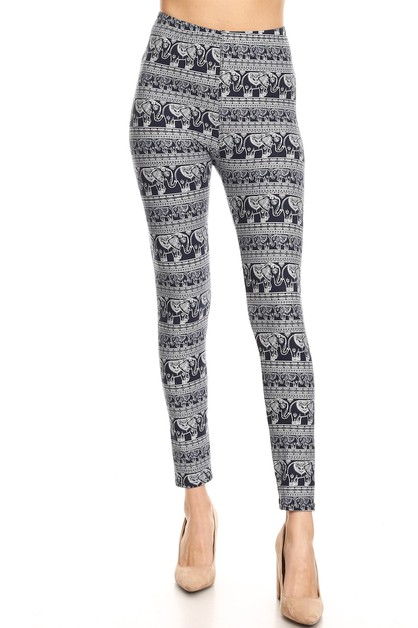 ELEPHANT PRINT LEGGINGS - orangeshine.com