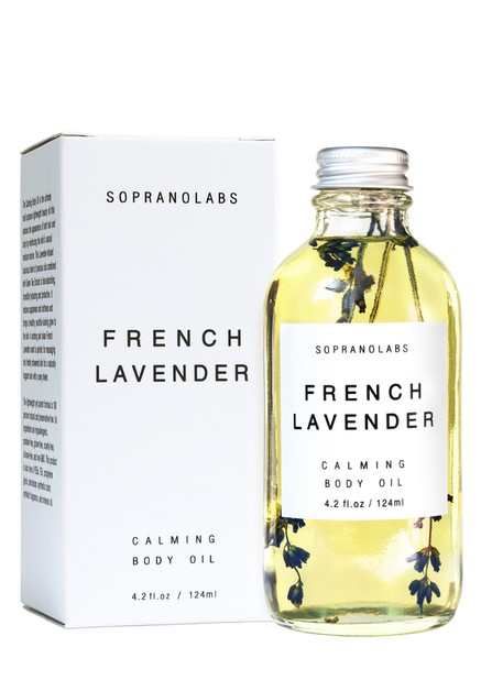 French Lavender  Calming Body Oil - orangeshine.com