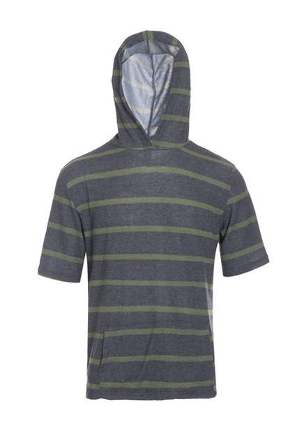 Mens Lightweight Short Sleeve Hooded - orangeshine.com