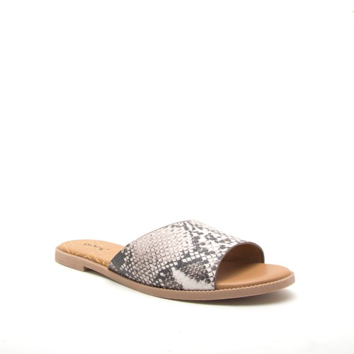 SNAKE OPEN TOE SANDALS - orangeshine.com