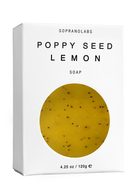 POPPY SEED LEMON Vegan Soap - orangeshine.com