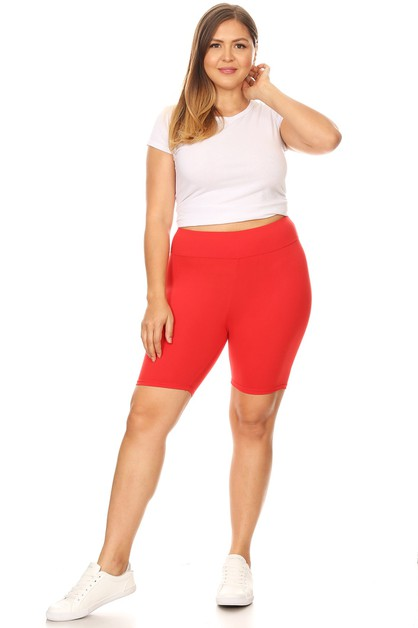 Buttery Soft Plus Size Bermuda Short - orangeshine.com