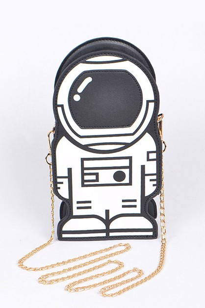Iconic Astronaut Crossbody Swing Bag - orangeshine.com