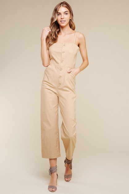 COTTON JUMPSUIT - orangeshine.com