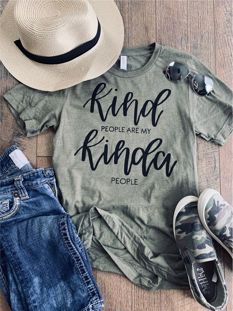 Kind People are my Kinda People Tee - orangeshine.com