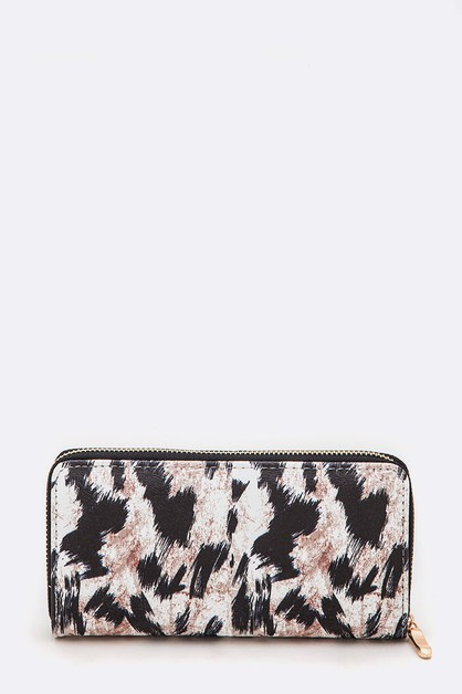 Animal Printed PU Wallet - orangeshine.com