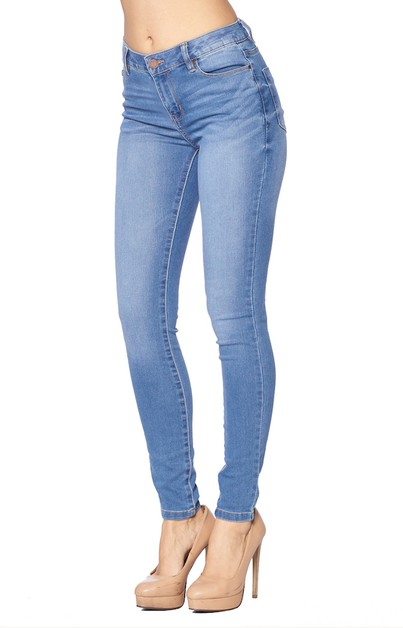 SKINNY JEANS DESTROYED - LADY DENIM - orangeshine.com