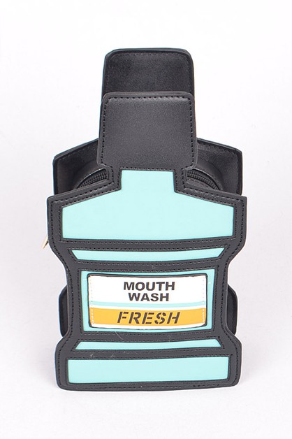 Mouth Wash Iconic Crossbody Swing Ba - orangeshine.com