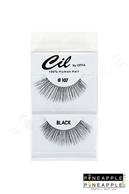 Cil Eyelashes No 107 - orangeshine.com