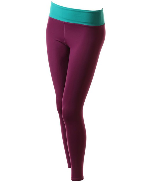 GAYA Basic High-waist Ankle Leggings - orangeshine.com