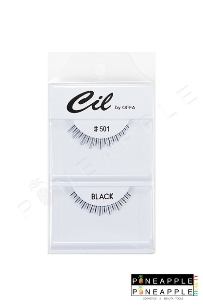 Cil Eyelashes No 501 - orangeshine.com