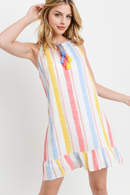 Rainbow Dress - orangeshine.com