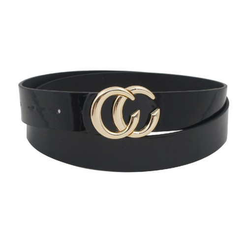 CC PATENT LEATHER BELT - orangeshine.com