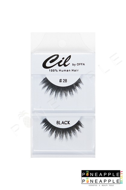 Cil Eyelashes No 28 - orangeshine.com