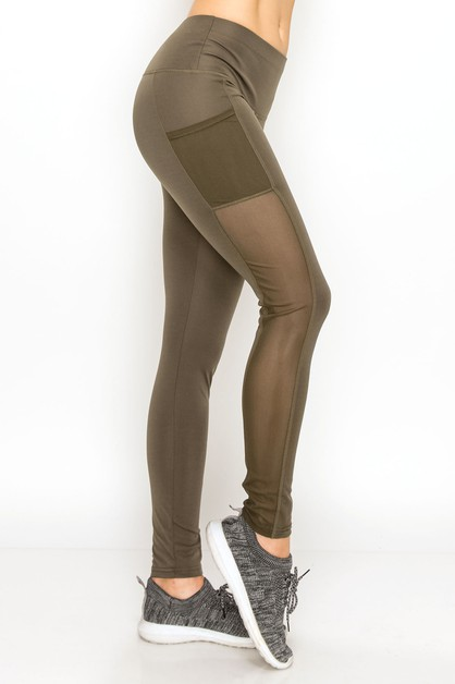 Pocket yoga legging - orangeshine.com