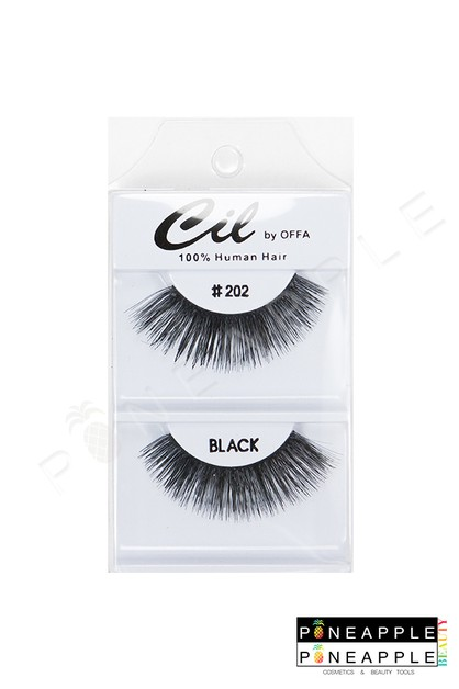 Cil Eyelashes No 202 - orangeshine.com