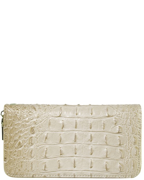 CROC Collection Vegan Leather Wallet - orangeshine.com