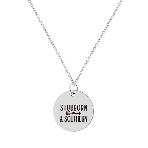 Stubborn and Southern Necklace - orangeshine.com