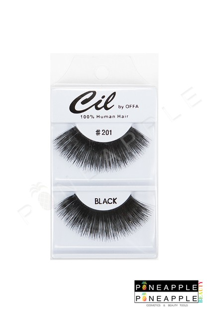 Cil Eyelashes No 201 - orangeshine.com