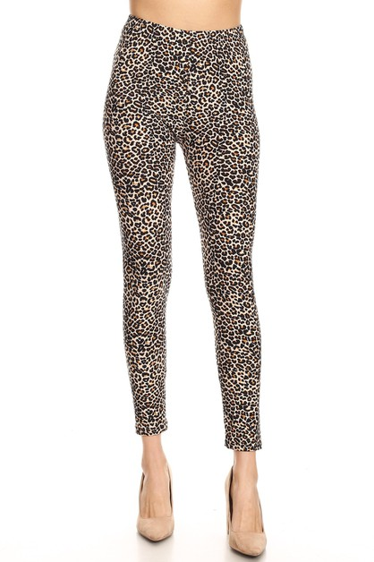 CHEETAH ANIMAL PRINT LEGGINGS - orangeshine.com