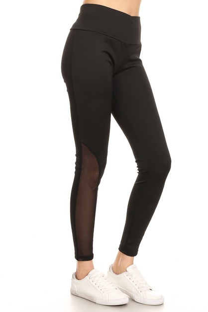 MESH ACTIVE YOGA LEGGINGS - orangeshine.com