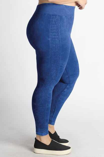 Plus Size Ladder Jeggings - orangeshine.com