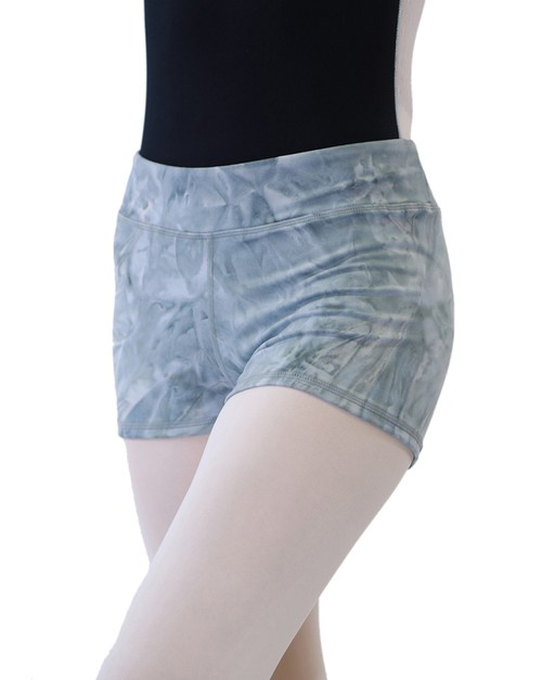 MINI Tie Dye Mid-rise Short Pants - orangeshine.com