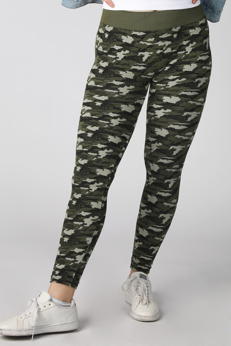 Modal Camo Leggings - orangeshine.com