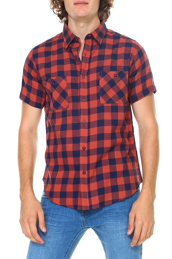 HAWKS BAY PLAID SHIRT - orangeshine.com
