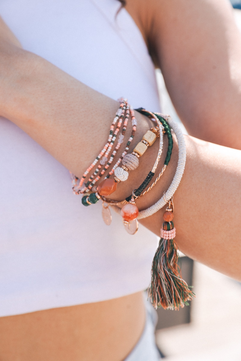 Moroccan Chic Stack Bead Charm and T - orangeshine.com