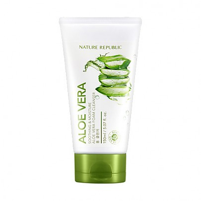 [Nature Republic] Aloe Vera Foam - orangeshine.com