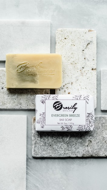 Evergreen Breeze Vegan Soap - orangeshine.com