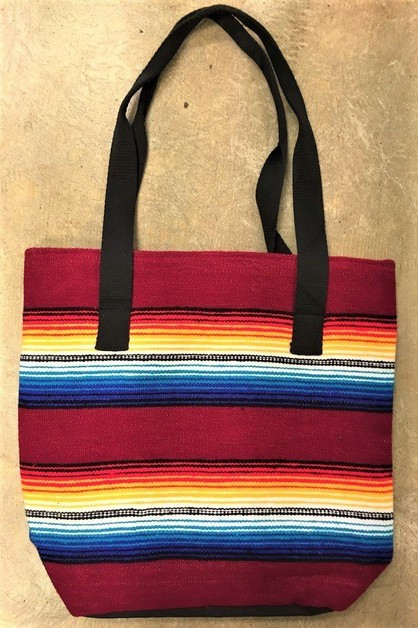 RED MUTLI TRADITIONAL SERAPE BAG - orangeshine.com