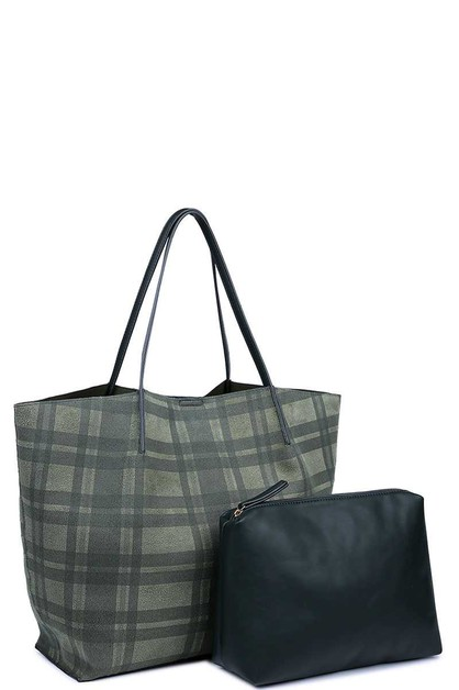 LUXURY CAMBRIDGE 2IN1 TOTE BAG - orangeshine.com