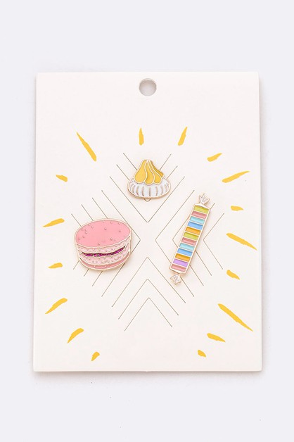Sweet Treat Pin Tag Set - orangeshine.com