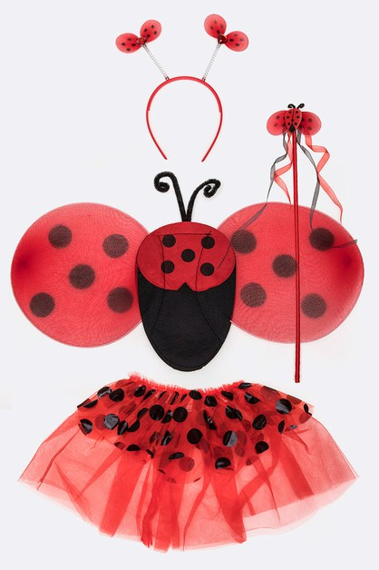 Kids Ladybug 4 PC Dress Up Set - orangeshine.com