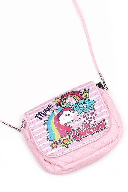 Unicorn Crossbody Bag - orangeshine.com