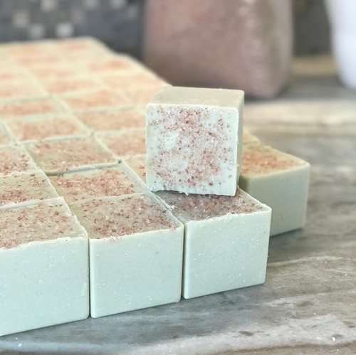 Ginger Orange Sea Salt Soap - orangeshine.com