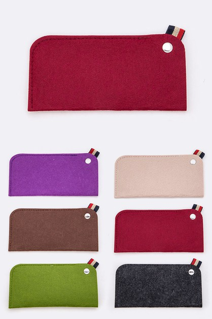 Felt Glasses Case Set - orangeshine.com