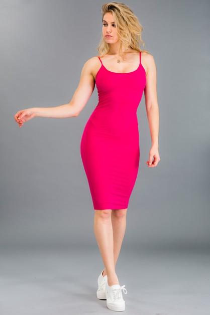 e49f78eccb9 Ribbed Cami Dress - orangeshine.com