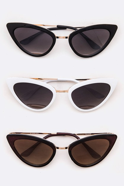 Iconic Cat Eye Sunglasses - orangeshine.com