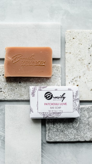 Patchouli Love Soap - orangeshine.com