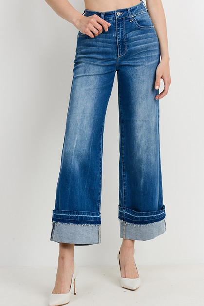 Flare Denim Jeans - orangeshine.com