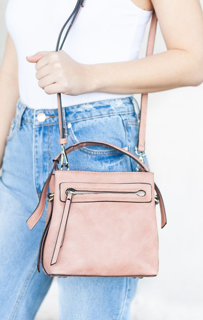 Sarah Vegan Leather Crossbody - orangeshine.com