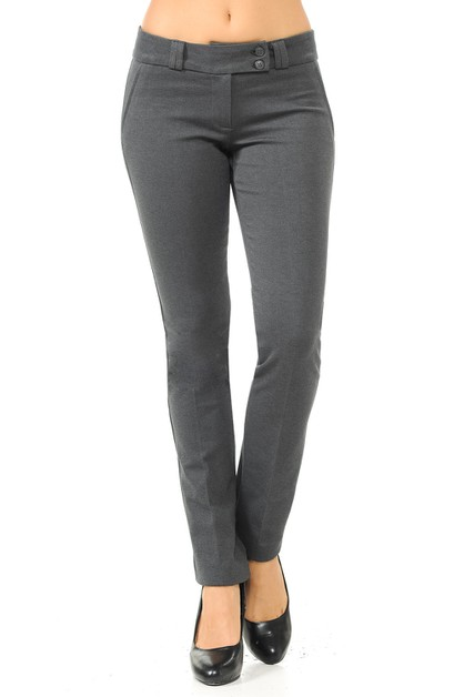 Basic Formal Work Office Pants - orangeshine.com