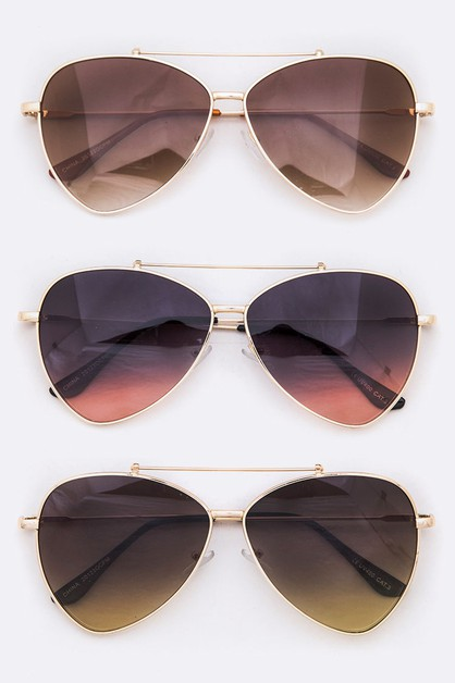 Triangle Aviator Iconic Sunglasses - orangeshine.com