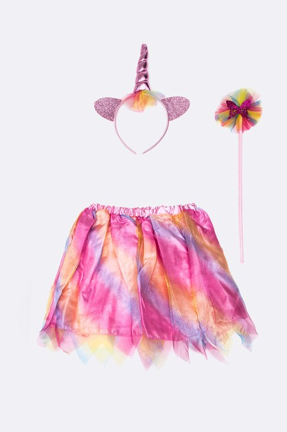 Kids Unicorn 3 PC Dress Up Set - orangeshine.com