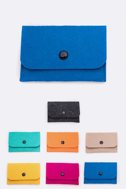 Colorful Felt Pouch - orangeshine.com